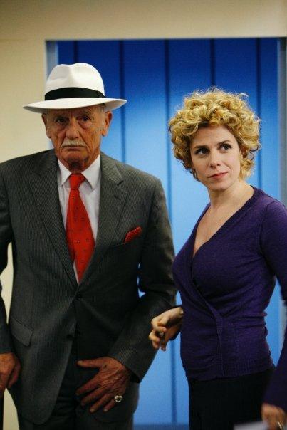"""""""Doppia rapina"""" Philippe Leroy e Cecilia Dazzi"""